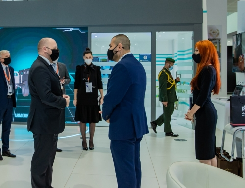 AL HAMRA @ IDEX2021 Day 1 Slovakian Minister of Defense Visit
