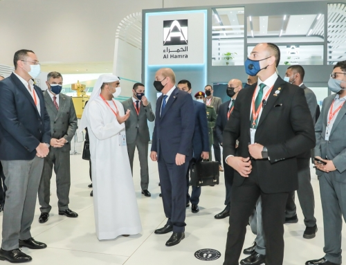AL HAMRA @ IDEX2021 Egyptian Minister of Defense Visit